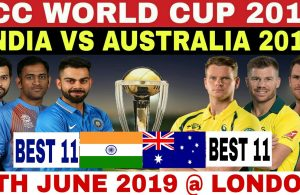 India vs Australia icc world cup