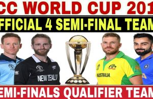 ICC World Cup 2019 Semi-Final-teams