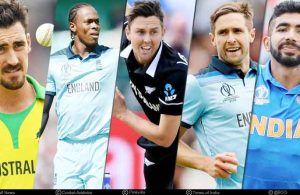 Top 5 Bowlers of the ICC World Cup Cricket 2019