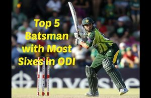 Top 5 Cricketers with Most Sixes in ODI Cricket