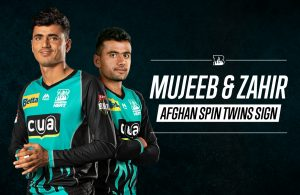 BBL 2019-20: Brisbane Heat Sign Mujeeb Ur Rahman and Zahir Khan for BBL09
