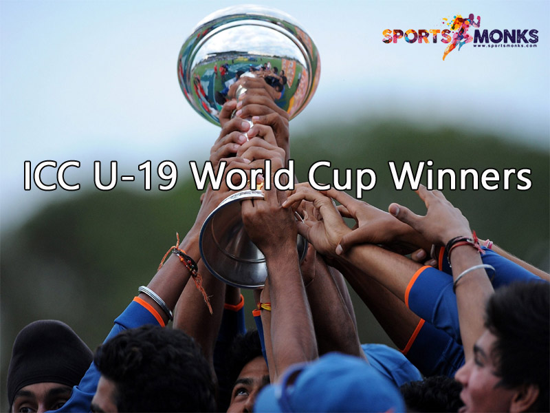 ICC Under-19 World Cup Winners List Since 1988 to 2020