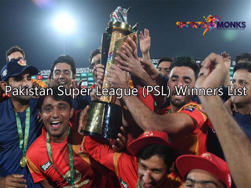 PSL Winners and Runner-up List | Pakistan Super League Winners (2016-2020)