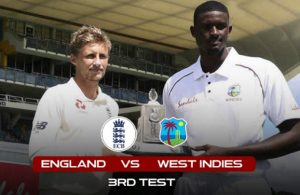 england vs west endies -3rd test