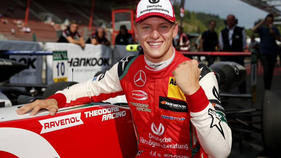 Mick Schumacher Proud To Follow In Father's F1 Footsteps
