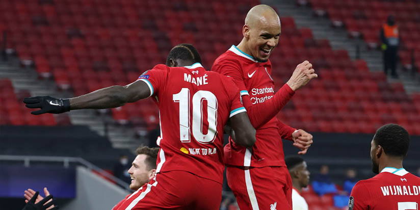 One of the best in the world Fabinho helps Liverpool into Champions League quarters