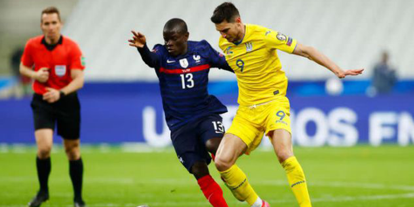 Lacklustre France held by Ukraine in opening World Cup qualifier