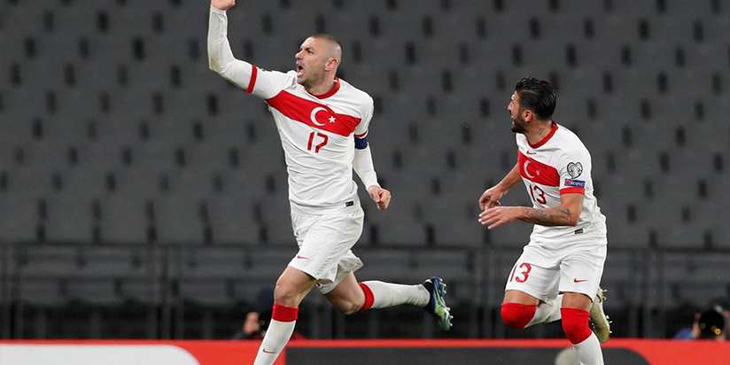 Yilmaz hat-trick leads Turkey to impressive win over Netherlands