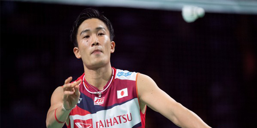 Japan's Momota wins at All England, Indonesians out after COVID-19 fears