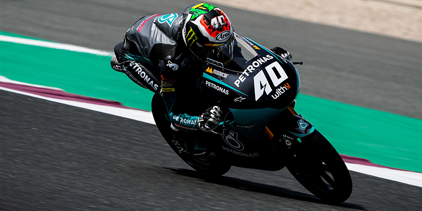 Moto3™: Binder strikes late to top Day 1 at Losail