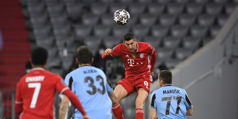Ruthless Bayern complete job against Lazio to ease into last eight
