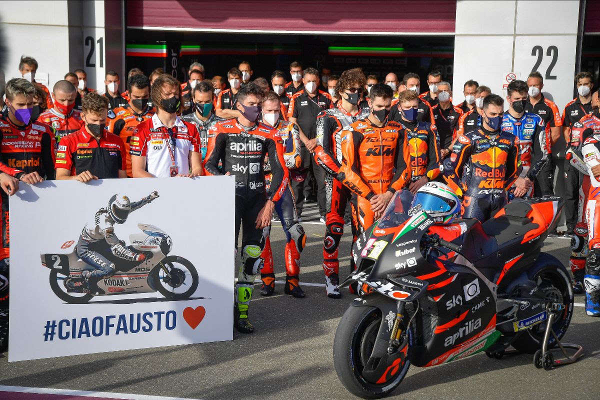MotoGP™ pays tribute to Fausto Gresini with a minute of silence at Losail