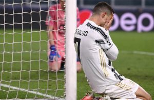 Cristiano Ronaldo commits 'unforgivable error' as Juventus is stunned by 10-man Porto in Champions League