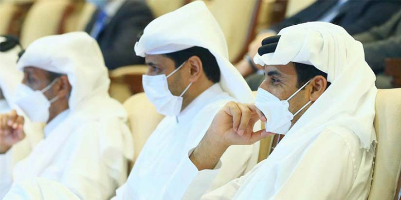 HH the Amir Attends Matches of Day 4 of Qatar Total Open