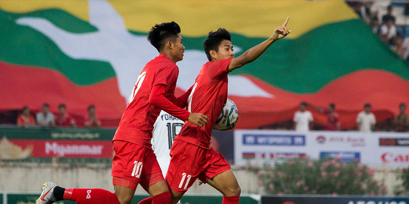 Myanmar player in Malaysia punished over anti-coup salute