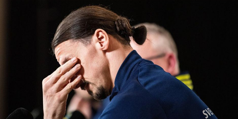 Emotional Zlatan Ibrahimovic reduced to tears on return to Sweden squad