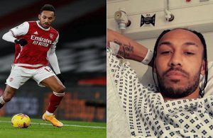 Aubameyang treated in hospital for malaria