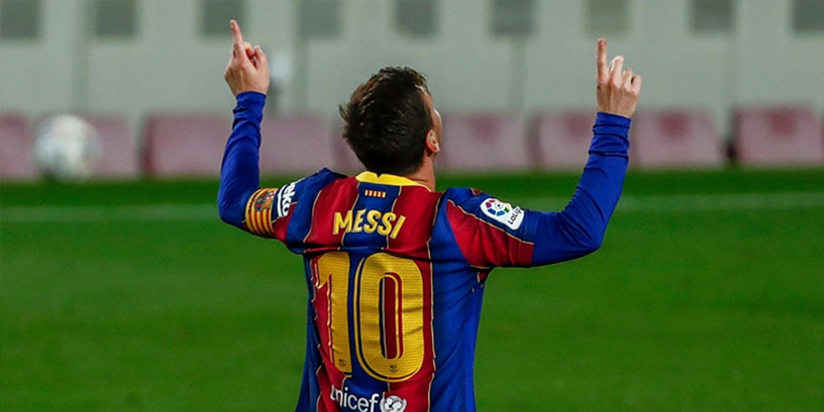 Messi double powers Barca to big win over Getafe