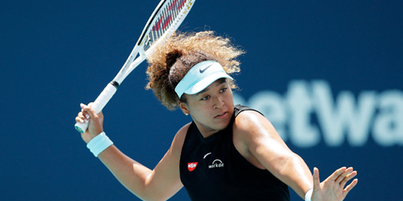 Osaka hopes to learn lesson after 23-match win streak snapped