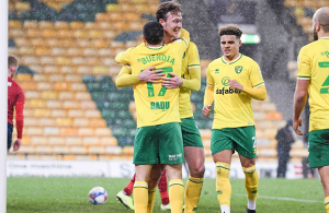 Norwich close in on promotion with 7-0 Huddersfield rout