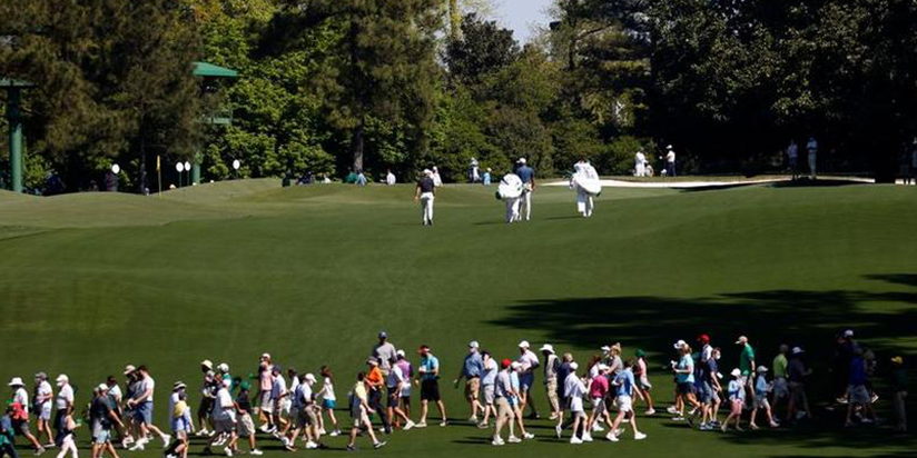 Natural order restored as spectators return to Augusta National