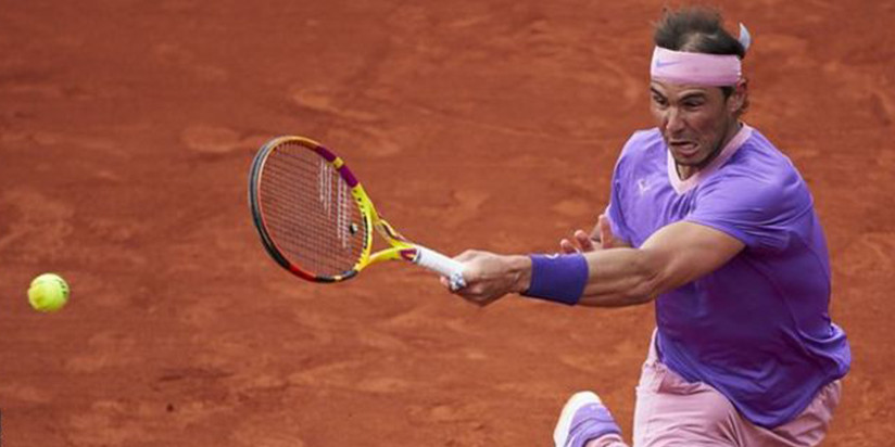 Nadal wins in Barcelona after scare but Britain's Evans is out