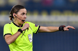 Frappart to become first female official at men's European Championship