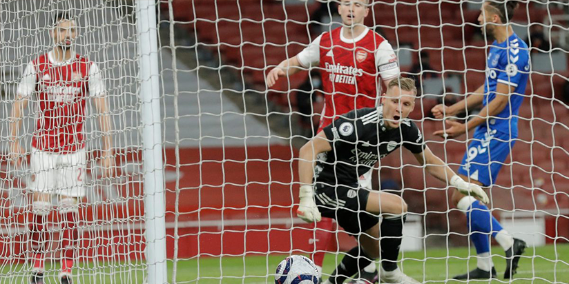 Leno blunder gifts Everton 1-0 win over Arsenal