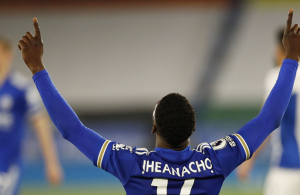 Iheanacho secures vital win for Leicester over Palace