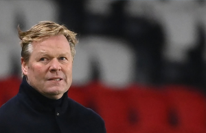 Barca coach Koeman not worried about future ahead of Copa final