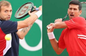 Monte Carlo Masters: Dan Evans to meet Novak Djokovic in third round