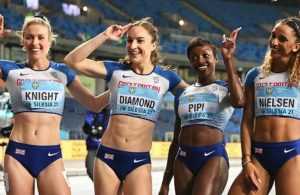 Great Britain women win 4x400m bronze at World Athletics Relays event