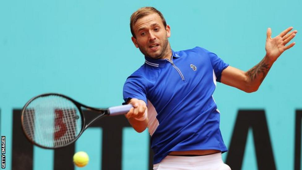 Evans reached the semi-finals in Monte-Carlo last month