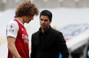 Luiz to leave Arsenal at end of season