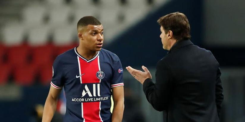 PSG boss Pochettino sweating over Mbappe fitness for Man City clash