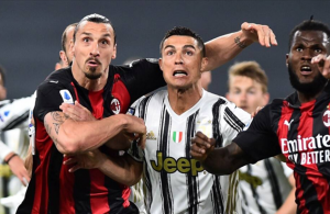 Juve in danger of missing out on top four after loss to Milan