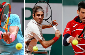 Men's 'Big Three' in same half of French Open draw