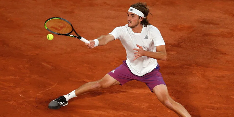 Tsitsipas downs Chardy to reach French Open second round
