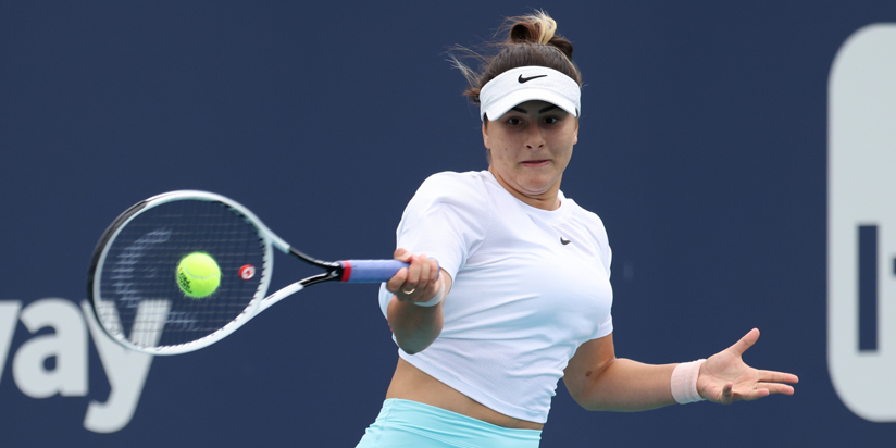Bianca Andreescu rolls to first-round win at Strasbourg