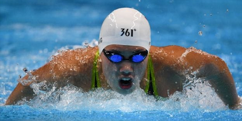 'New butterfly queen' boosts China's Olympic hopes