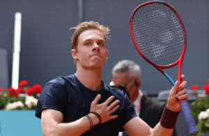 Shapovalov pulls out of French Open due to shoulder injury