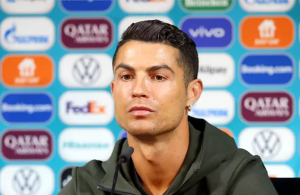 'Drink water': Ronaldo removes Coca-Cola bottles in front of him at press conference