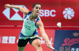 Badminton champion Marin withdraws from Tokyo due to knee injury