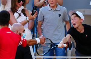 Indian billionaire praises Djokovic's reason on why he gave French Open winning racquet to a young fan