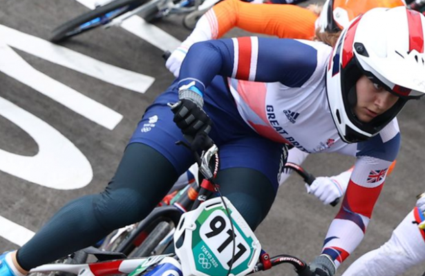 Cycling-Britain's Shriever wins gold in women's BMX