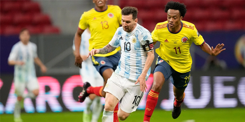 Argentina beat Colombia to reach Copa America final against Brazil