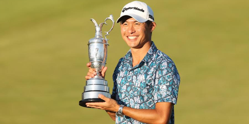 Morikawa hails British Open win as 'best day of my life'
