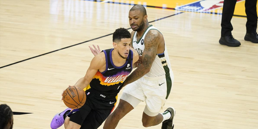 Suns beat Bucks to seize 2-0 lead in NBA Finals