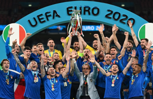 Italy crowned European champions after shootout win over England