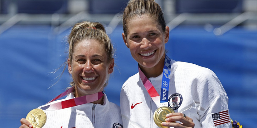 Beach volleyball-America's Ross and Klineman beat Australia for gold
